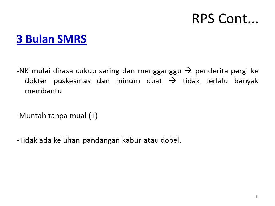 RPS Cont... 3 Bulan SMRS.