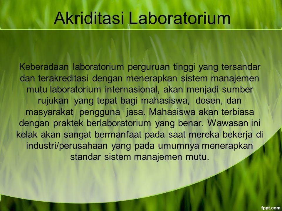 Akriditasi Laboratorium