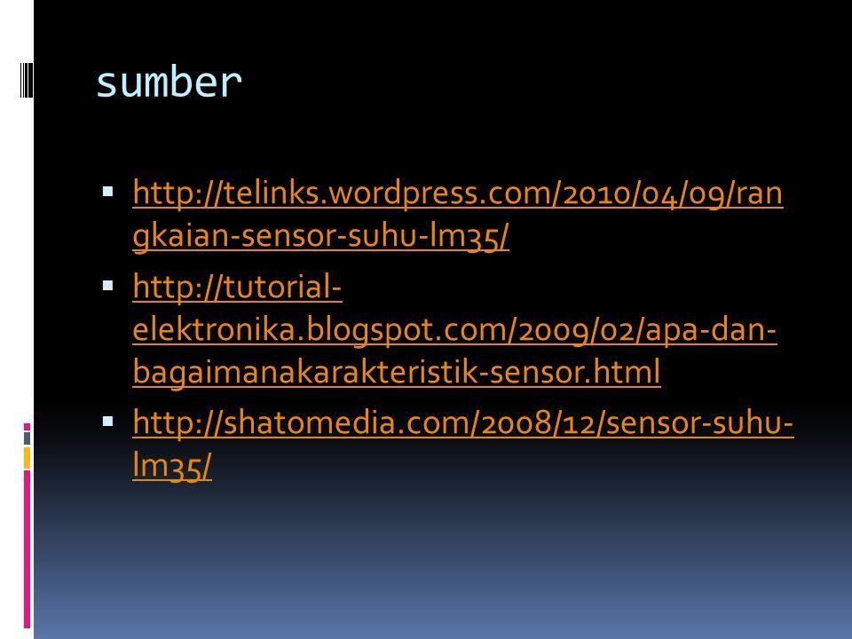 sumber http://telinks.wordpress.com/2010/04/09/ran gkaian-sensor-suhu-lm35/