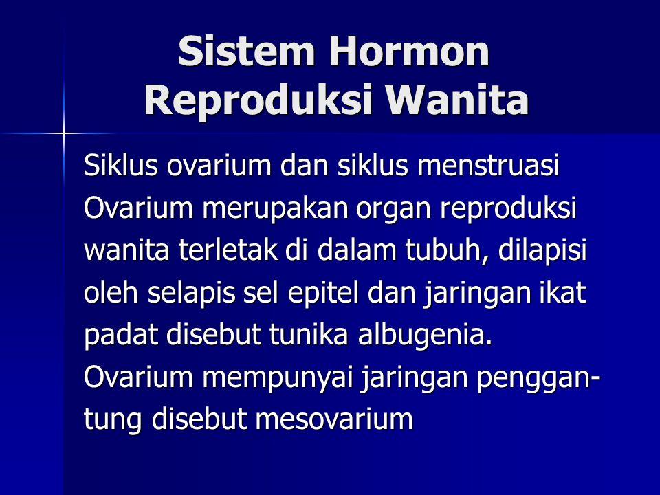 Sistem Hormon Reproduksi Wanita