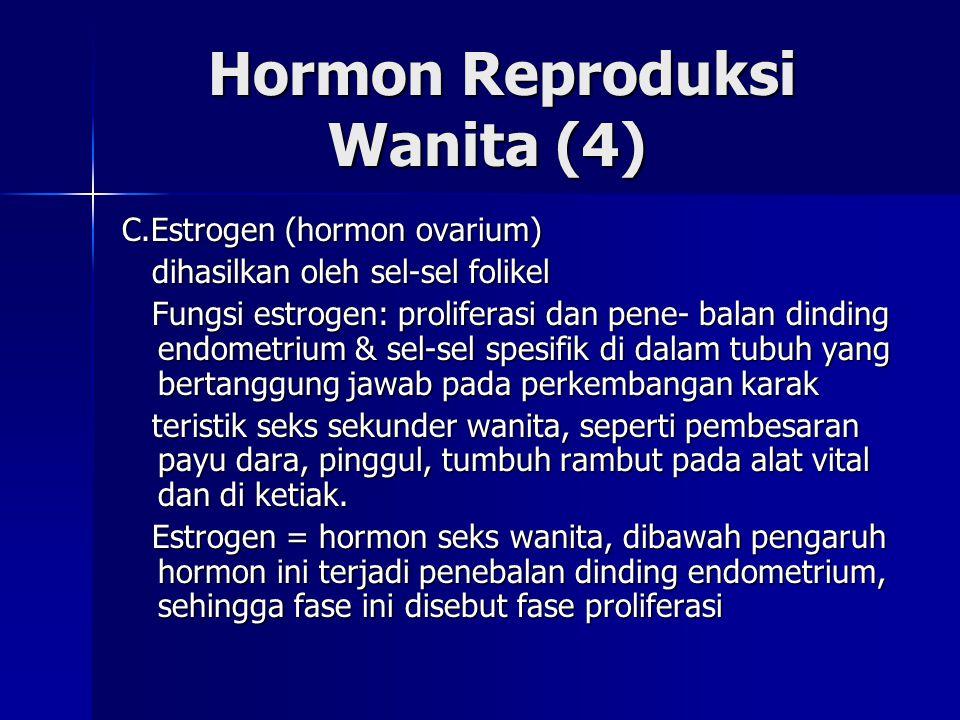 Hormon Reproduksi Wanita (4)