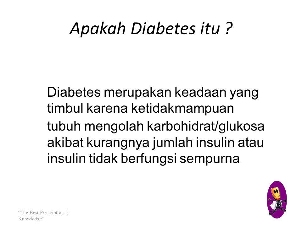 Apakah Diabetes itu