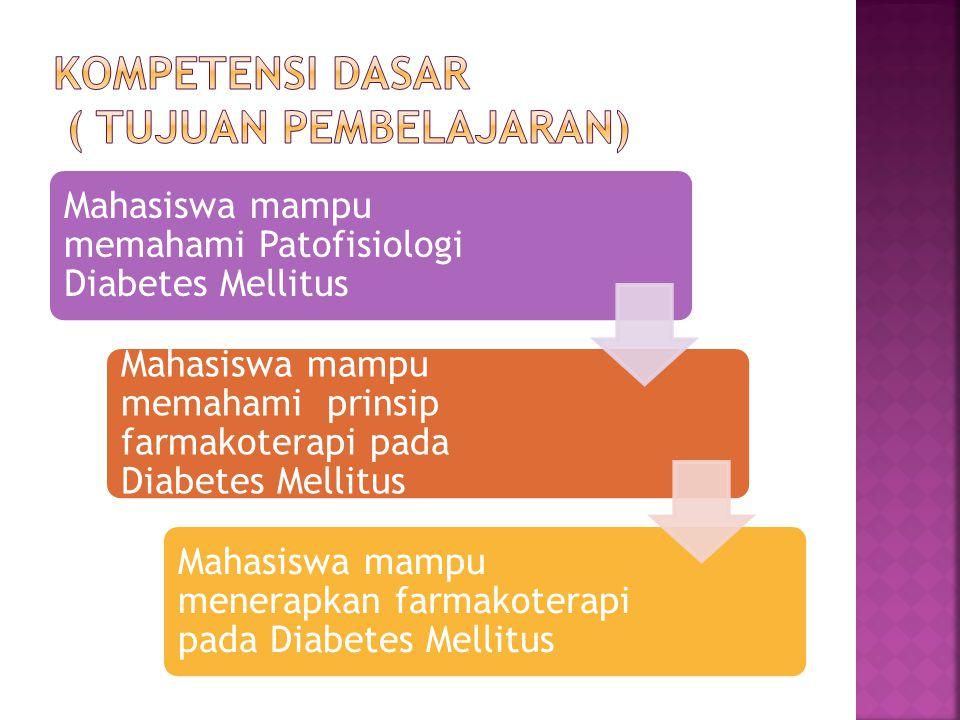 Kompetensi Dasar ( Tujuan Pembelajaran)