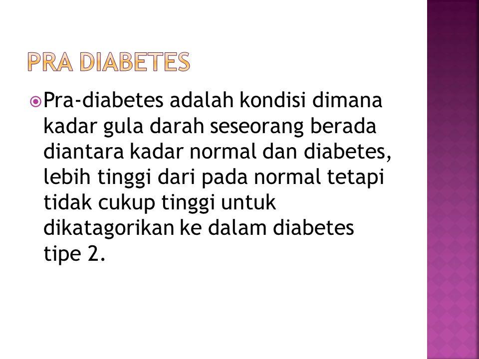 Pra diabetes