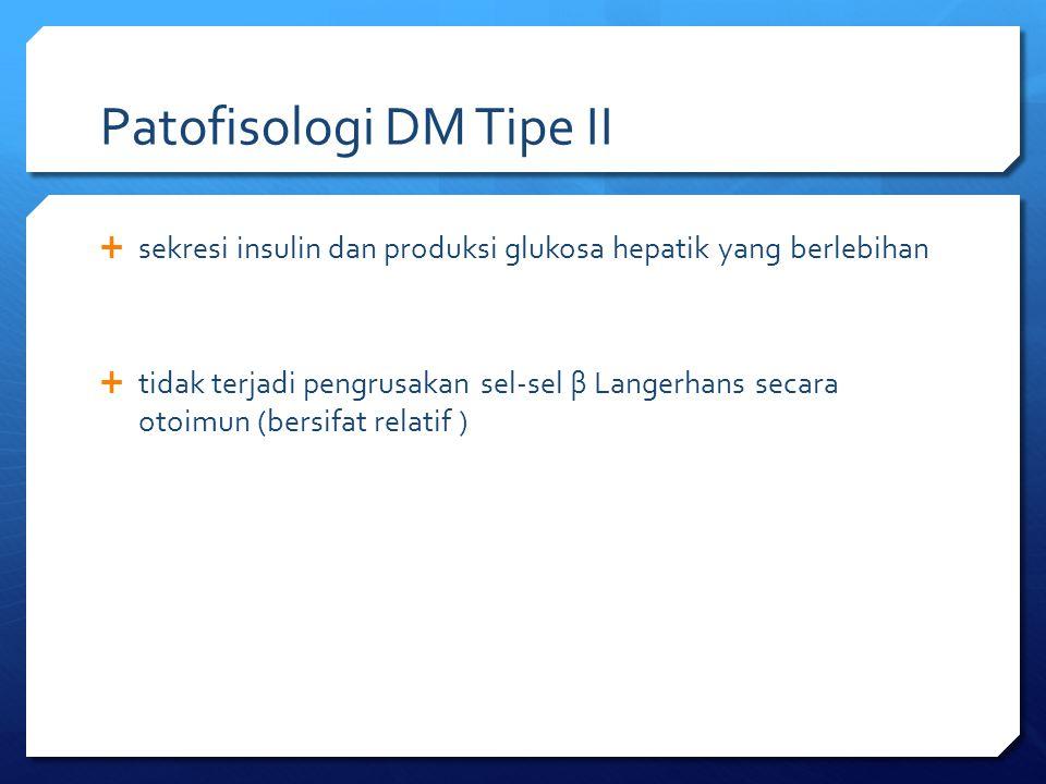 Patofisologi DM Tipe II