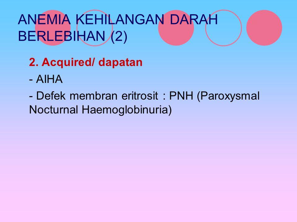 ANEMIA KEHILANGAN DARAH BERLEBIHAN (2)