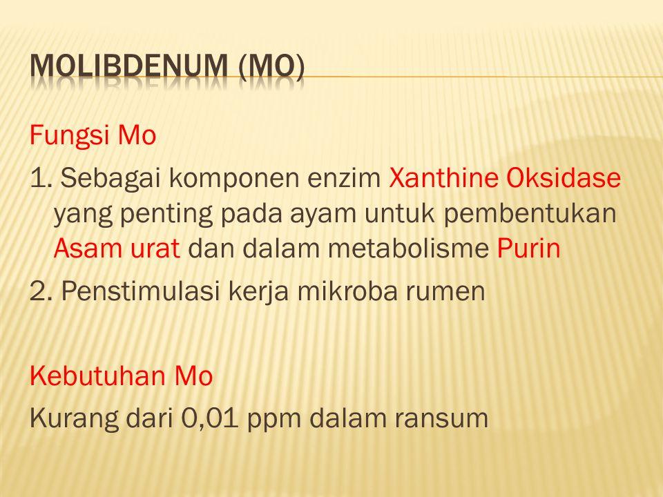 Molibdenum (Mo)