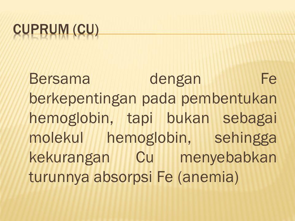 Cuprum (Cu)