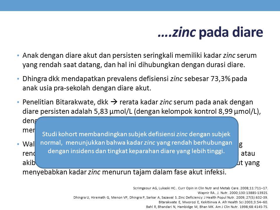 ….zinc pada diare