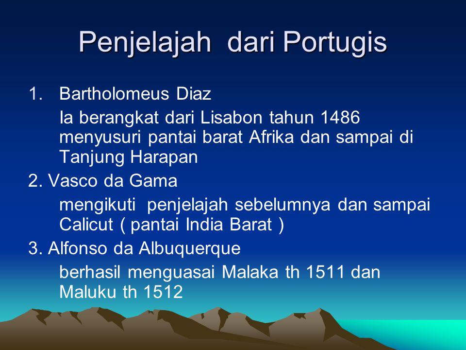 Penjelajah dari Portugis