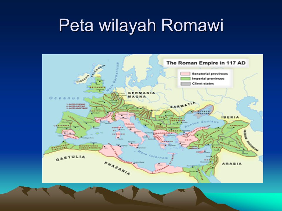 Peta wilayah Romawi