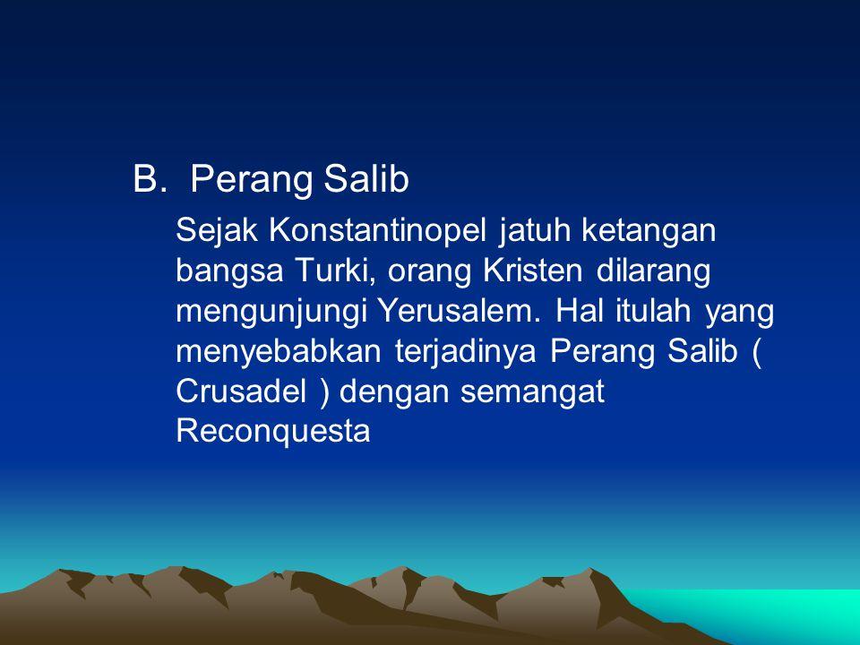 B. Perang Salib