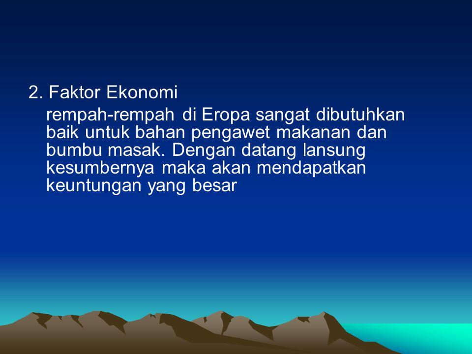 2. Faktor Ekonomi