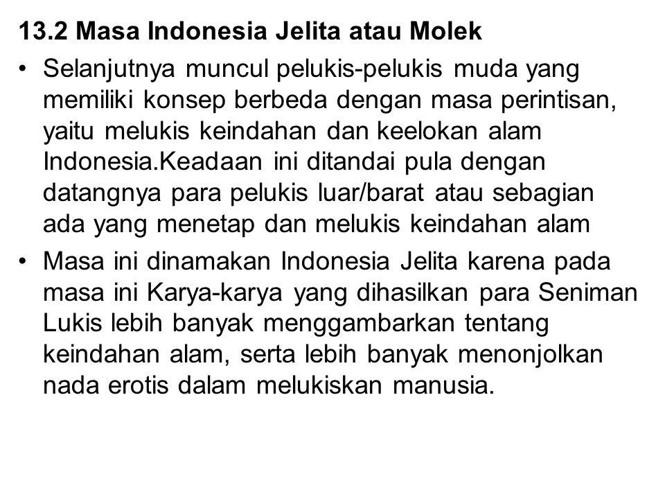 13.2 Masa Indonesia Jelita atau Molek