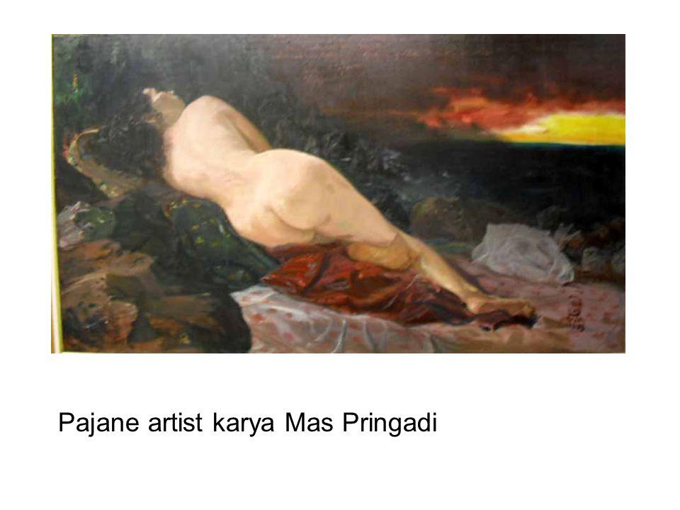 Pajane artist karya Mas Pringadi