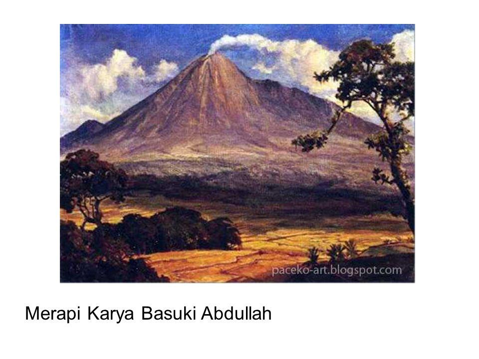 Merapi Karya Basuki Abdullah