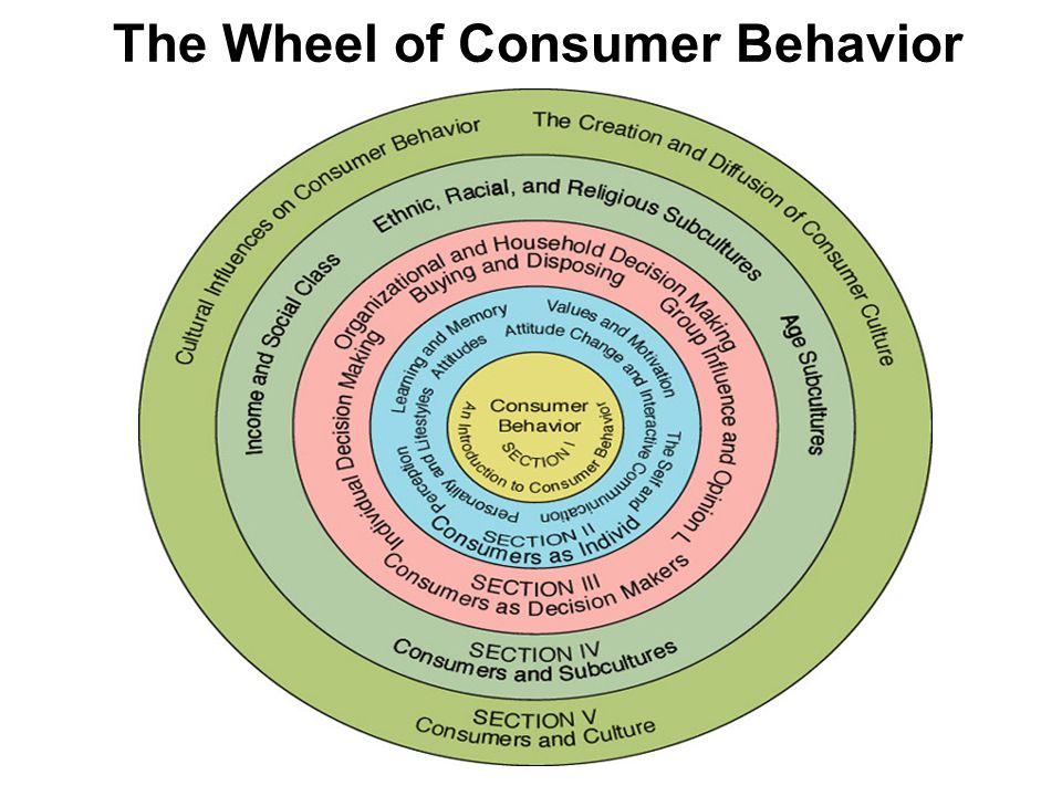 The Wheel of Consumer Behavior