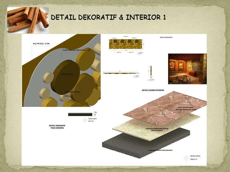 DETAIL DEKORATIF & INTERIOR 1