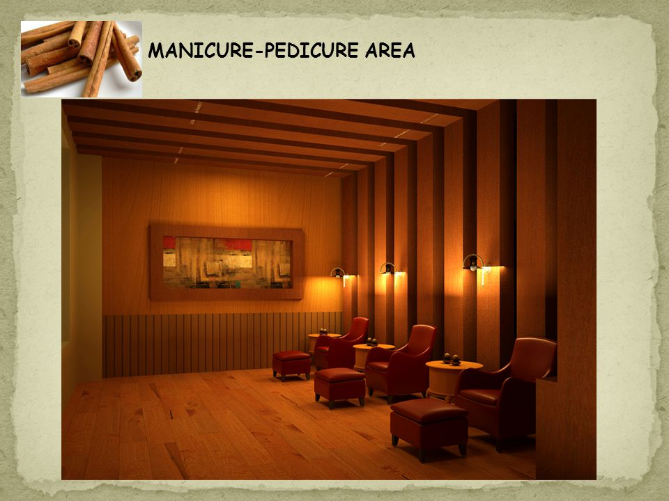 MANICURE-PEDICURE AREA
