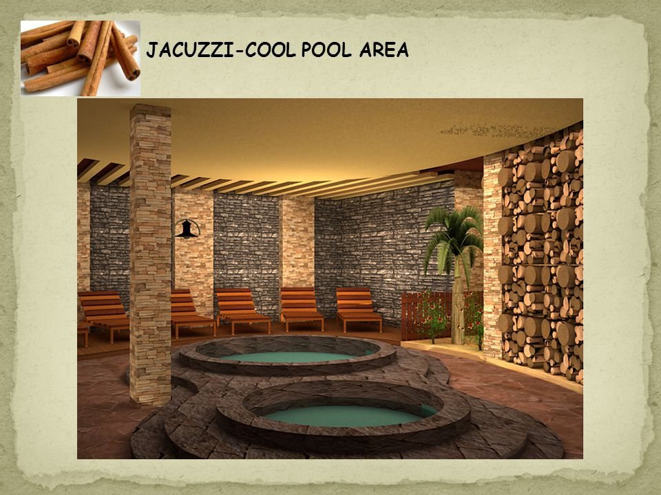 JACUZZI-COOL POOL AREA