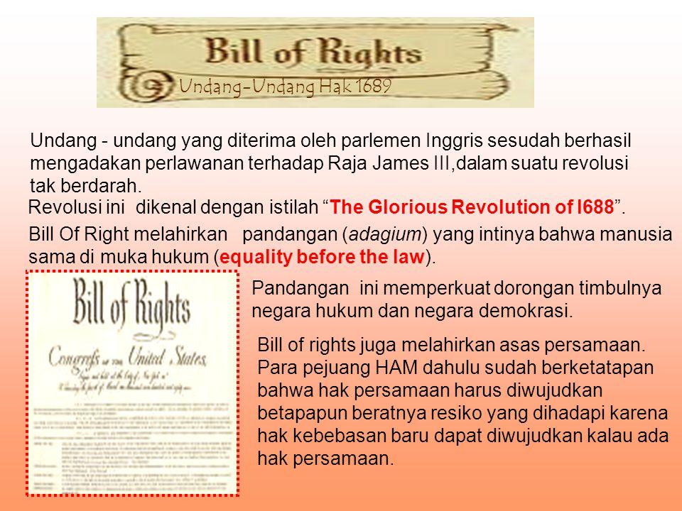 Undang-Undang Hak 1689