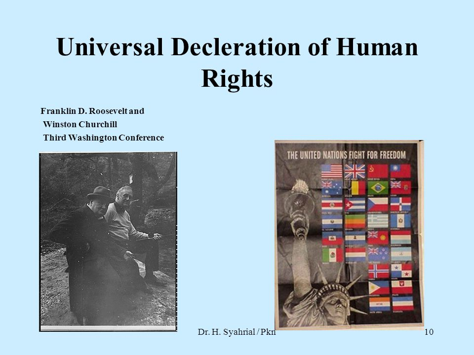 Universal Decleration of Human Rights