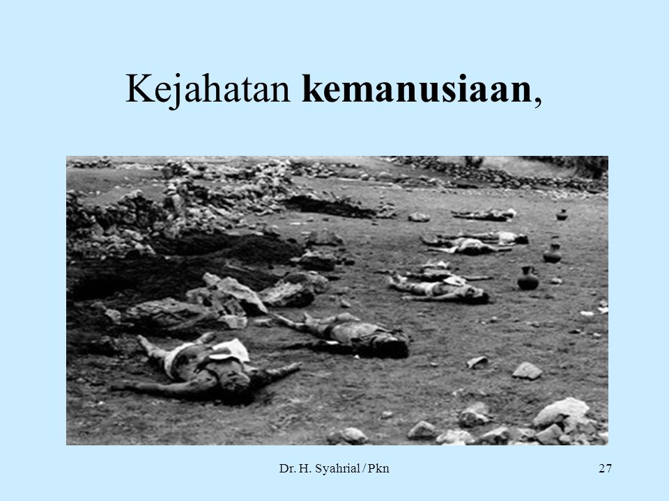 Kejahatan kemanusiaan,