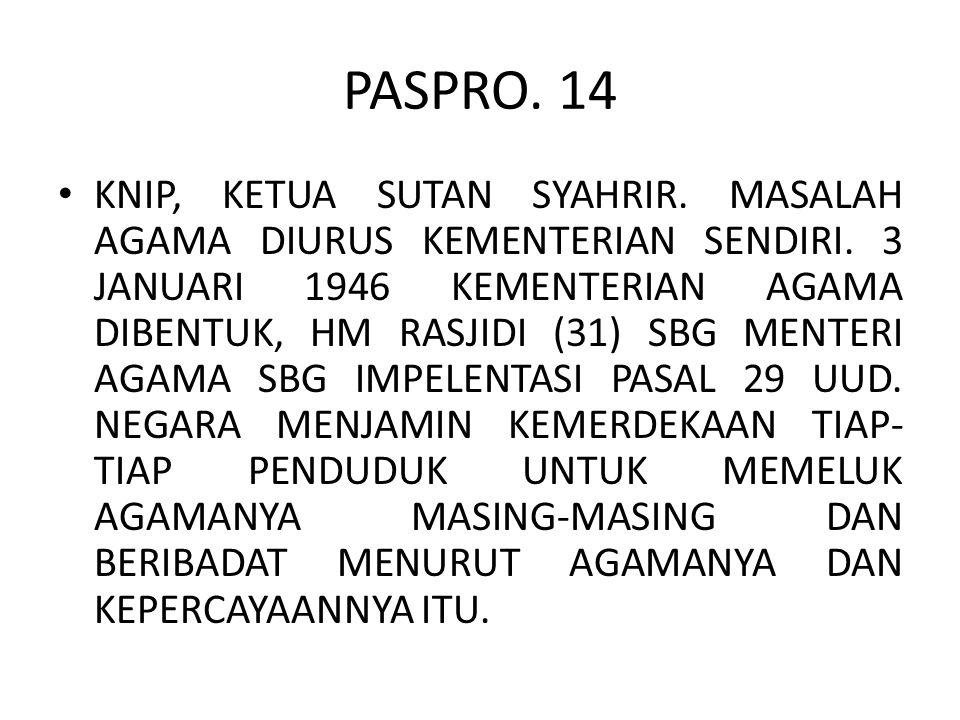 PASPRO. 14