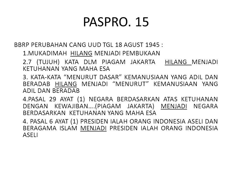 PASPRO. 15