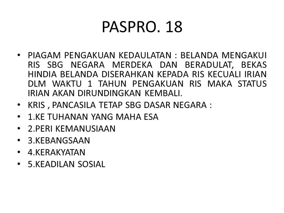 PASPRO. 18