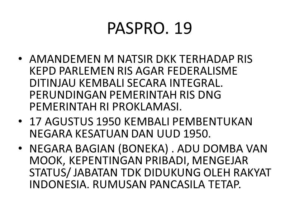 PASPRO. 19