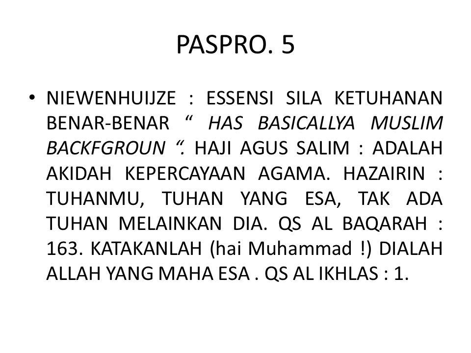 PASPRO. 5