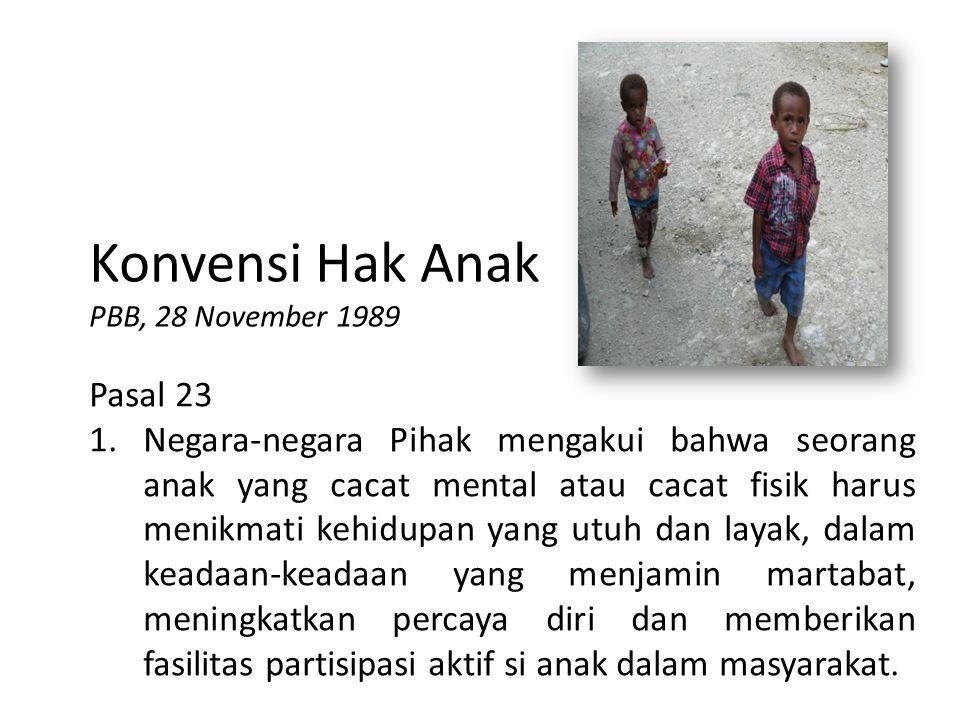 Konvensi Hak Anak Pasal 23