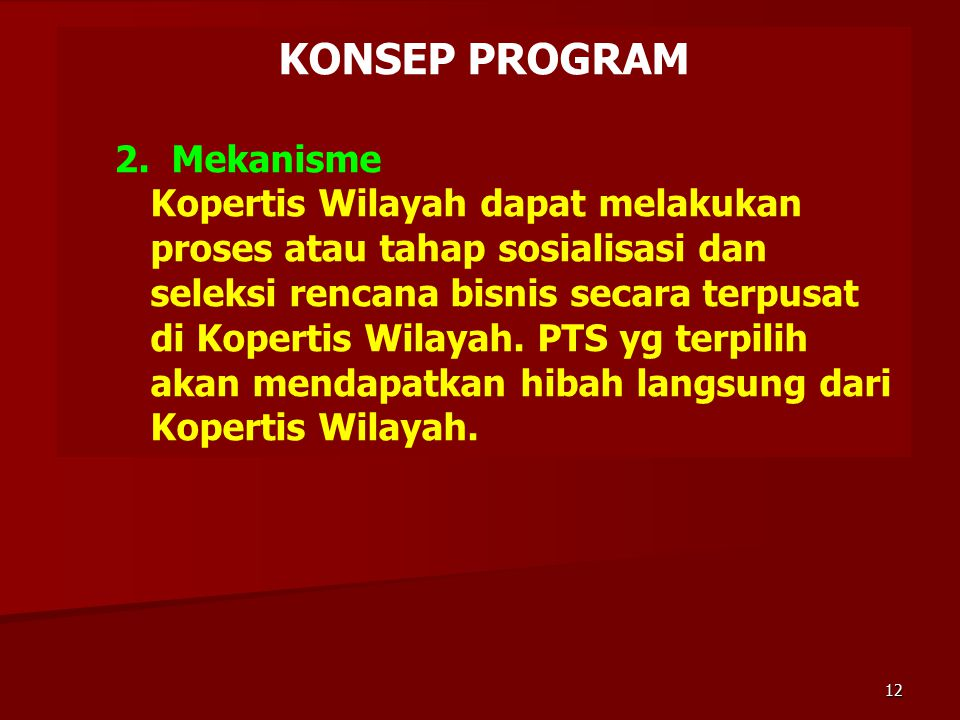 KONSEP PROGRAM