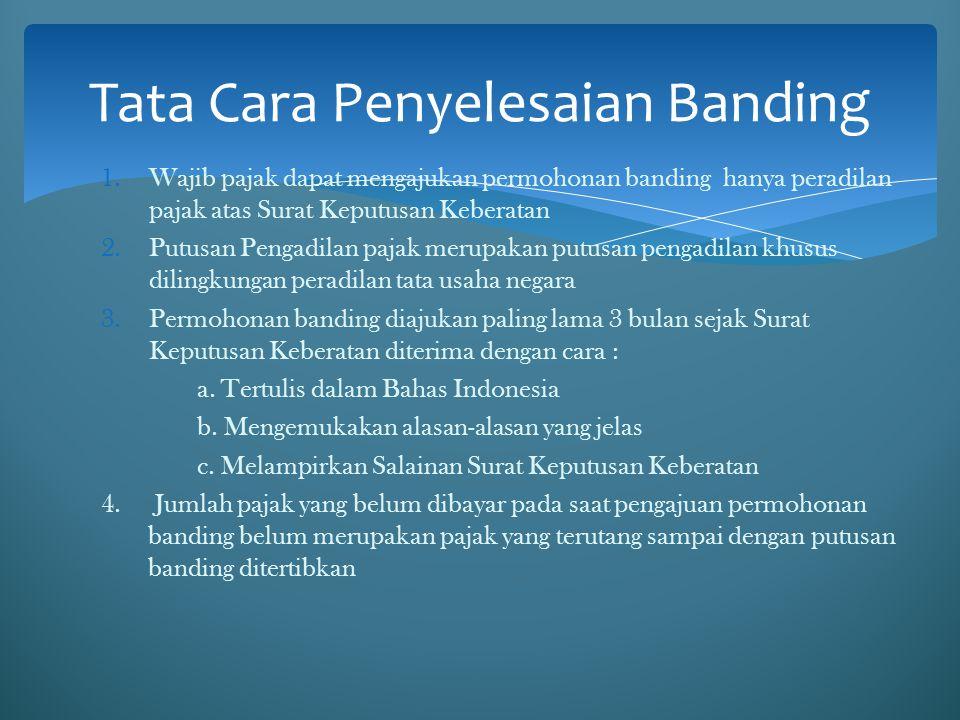 Tata Cara Penyelesaian Banding