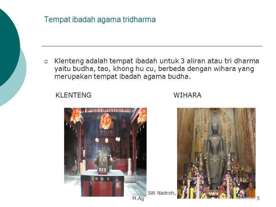 Tempat ibadah agama tridharma