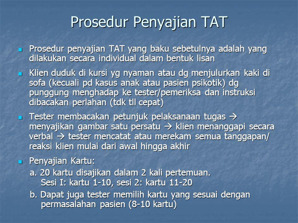 Prosedur Penyajian TAT