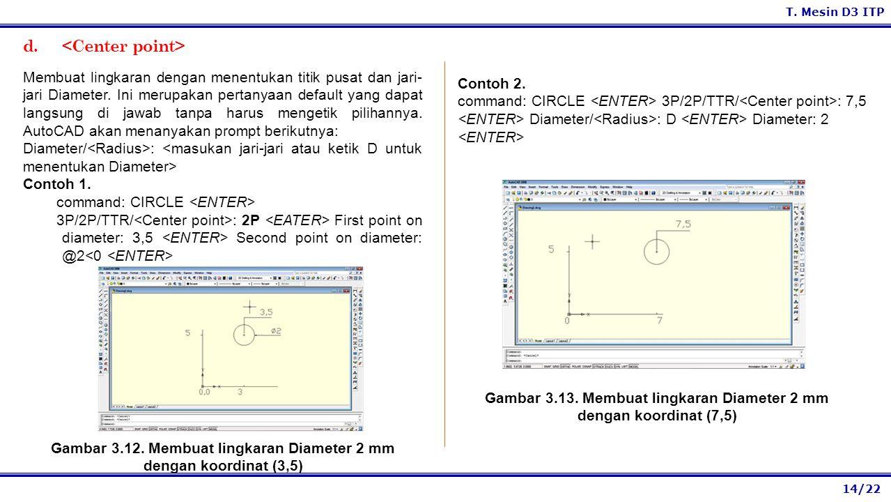 d. <Center point>