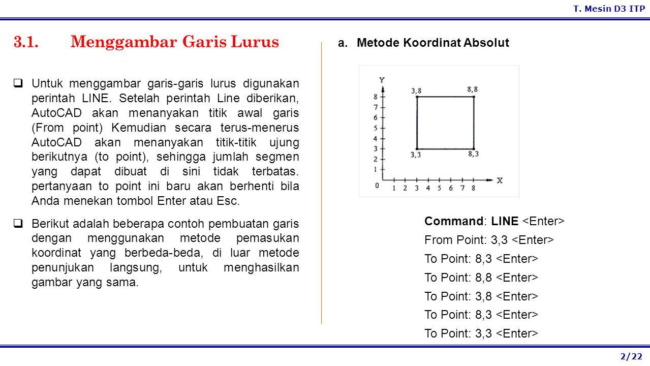 3.1. Menggambar Garis Lurus