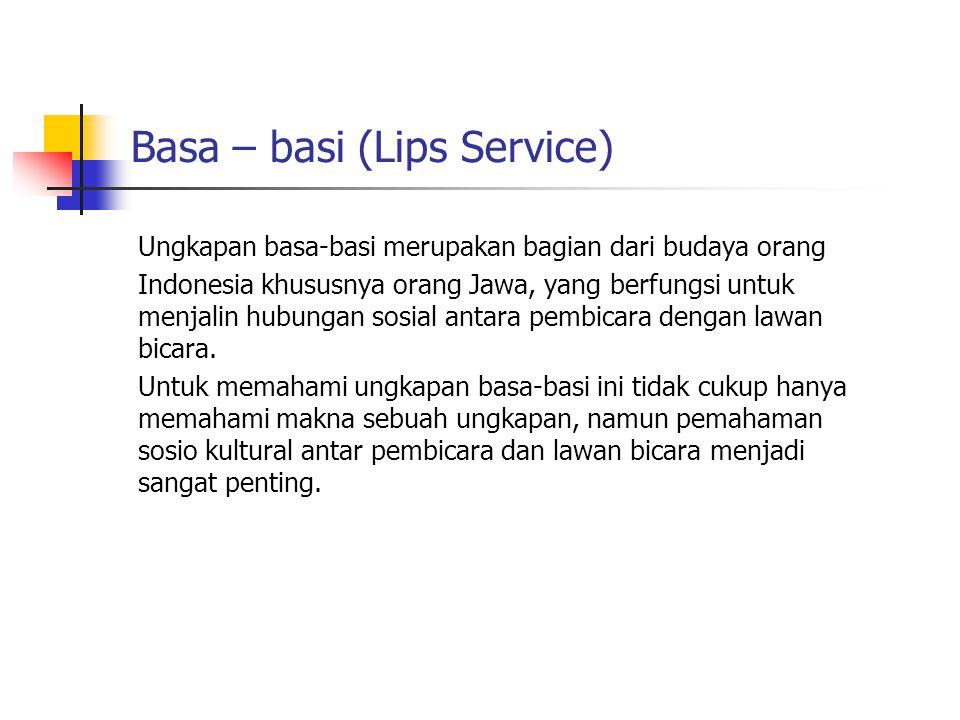Basa – basi (Lips Service)