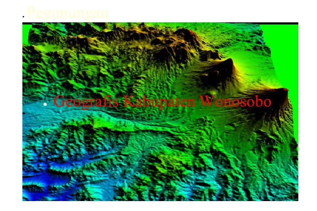 Geografis Kabupaten Wonosobo