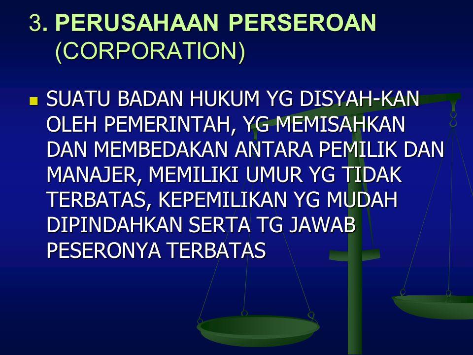 3. PERUSAHAAN PERSEROAN (CORPORATION)