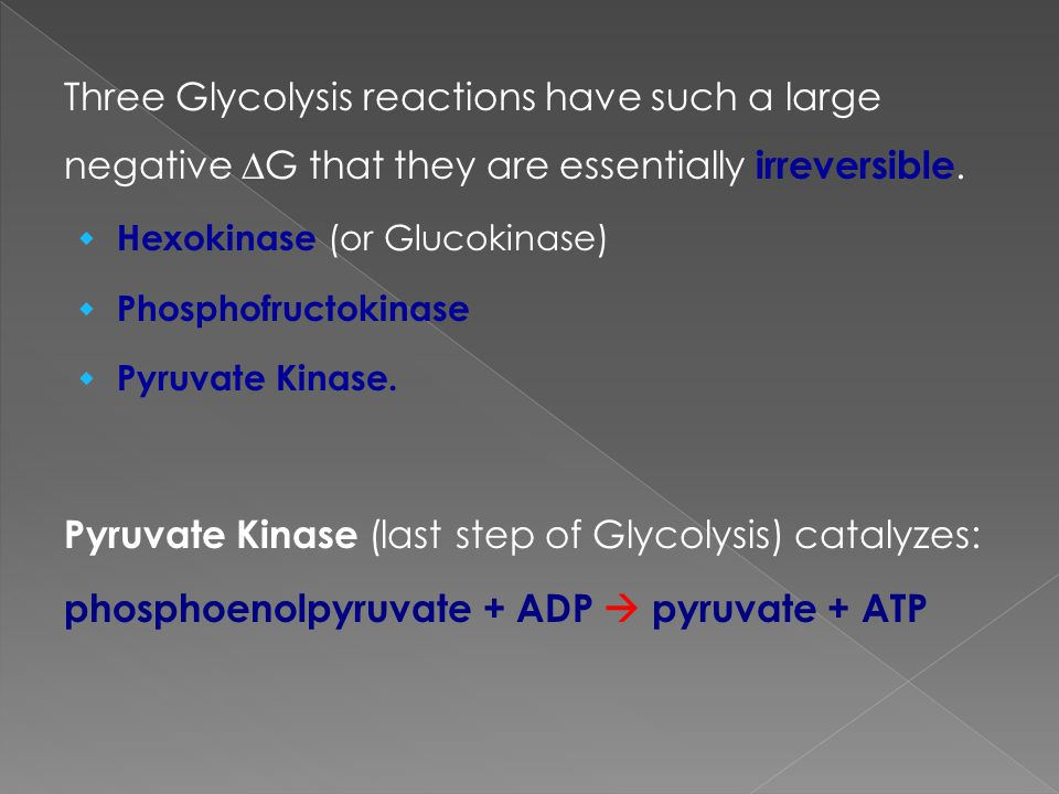 Pyruvate Kinase (last step of Glycolysis) catalyzes: