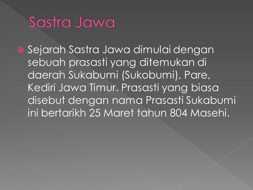 Sastra Jawa