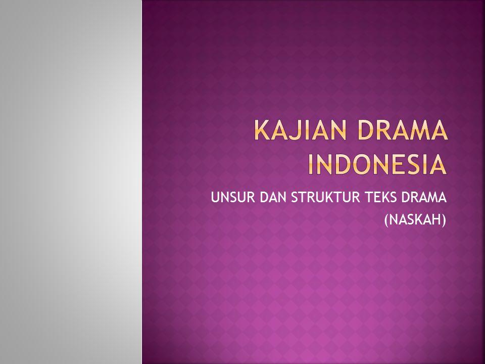 KAJIAN DRAMA INDONESIA