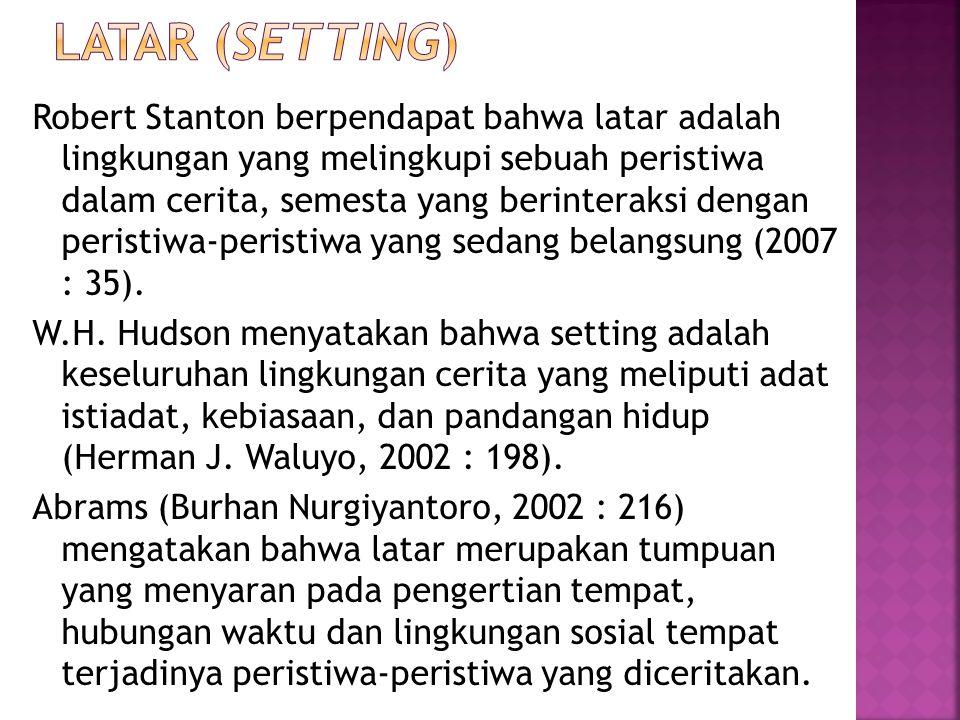 Latar (SETTING)