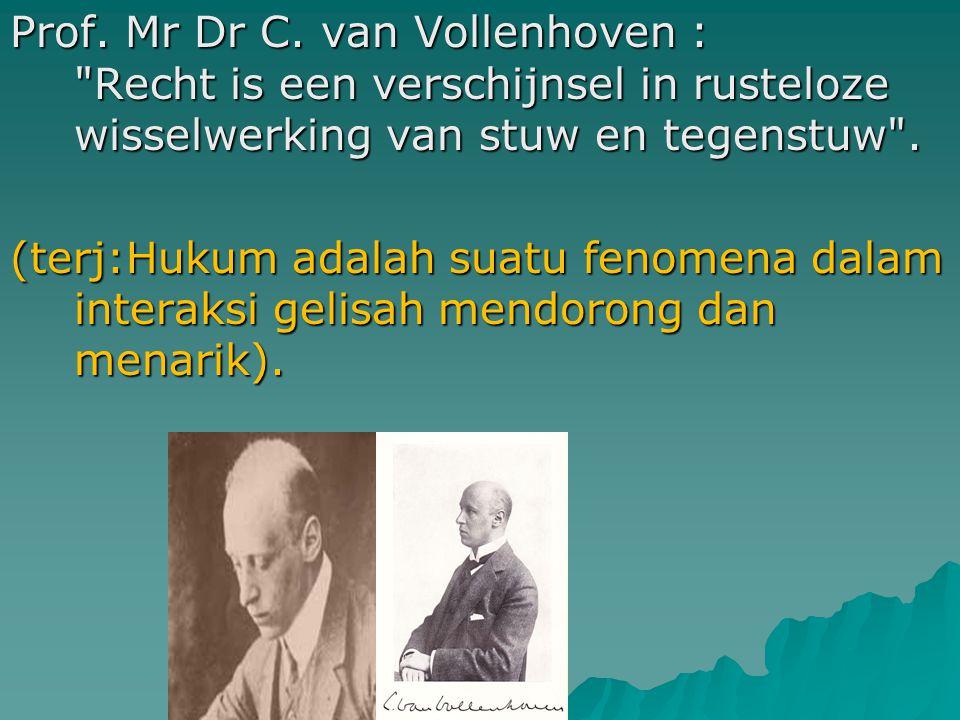 Prof. Mr Dr C.