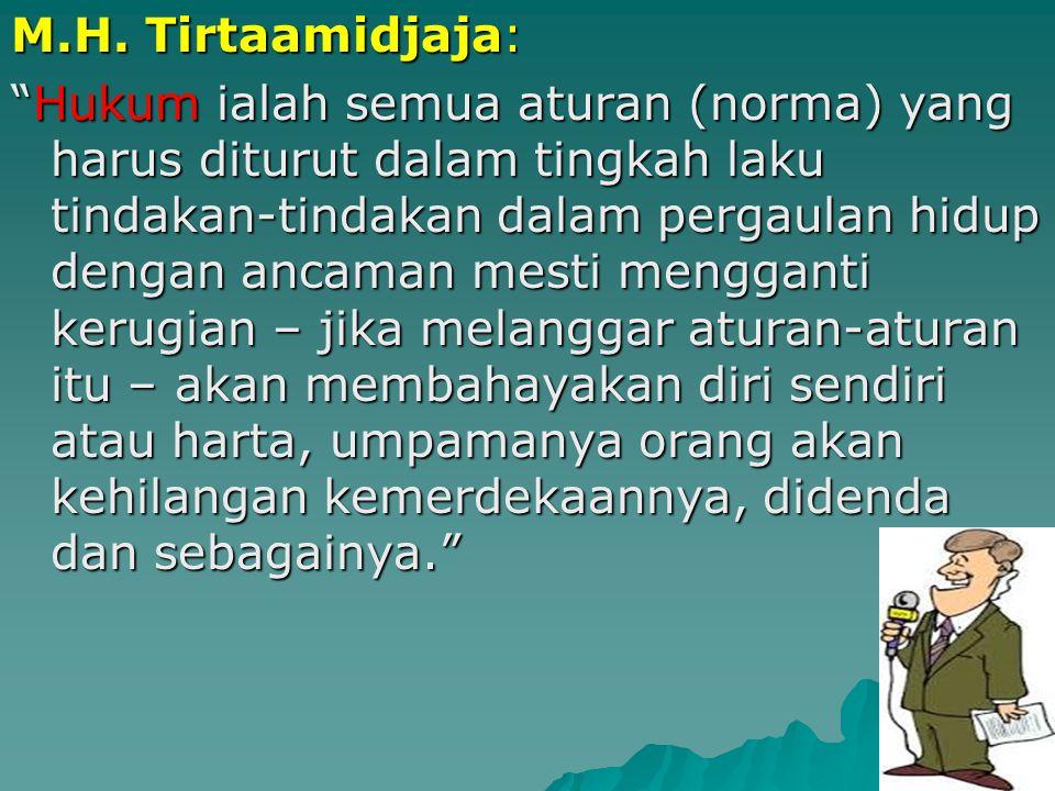 M.H. Tirtaamidjaja: