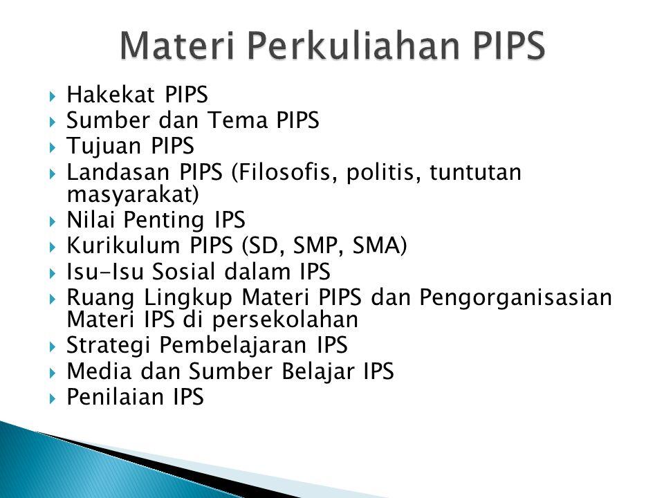 Materi Perkuliahan PIPS