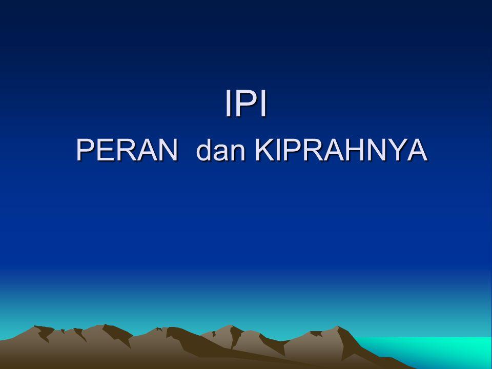 IPI PERAN dan KIPRAHNYA